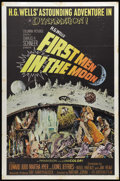 "Movie Posters:Science Fiction, First Men in the Moon (Columbia, 1964). One Sheet (27"" X 41""). Based on the H.G. Wells novel, the film tells the story of a ..."