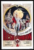 """Movie Posters:Comedy, Flesh Gordon (Mammoth Films, 1974). One Sheet (27"""" X 41""""). This naughty parody of the Flash Gordon serials of the Forties st..."""