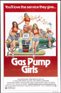 "Movie Posters:Bad Girl, Gas Pump Girls (Cannon, 1979). One Sheet (27"" X 41""). A girlconvinces her friends to help her save her uncle's failing gas ..."