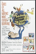 """Movie Posters:Comedy, A Global Affair (MGM, 1964). One Sheet (27"""" X 41""""). Bob Hope farce about a baby abandoned at the United Nations. Bright, col..."""