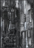 """Movie Posters:Miscellaneous, H. R. Giger Print (Albin Uldry, 1980s). Poster (27.5"""" X 39""""). H. R. Giger, the artist famous for the creature design in """"Ali..."""