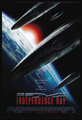 """Movie Posters:Science Fiction, Independence Day (20th Century Fox, 1996). One Sheet (27"""" X 41""""). Will Smith, Jeff Goldblum and Bill Pullman lead Earth's ba..."""