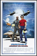 "Movie Posters:Action, Iron Eagle (Tri Star Pictures, 1986). One Sheet (27"" X 41""). Louis Gossett Jr. stars as an Air Force veteran who helps a 16-..."