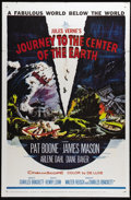 """Movie Posters:Science Fiction, Journey to the Center of the Earth (20th Century Fox, 1959). OneSheet (27"""" X 41""""). Pat Boone, James Mason and Arlene Dahl s..."""