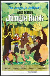 "The Jungle Book (Buena Vista, 1967). One Sheet (27"" X 41""). This charming Disney classic was the final animate..."