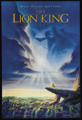 "Movie Posters:Animated, The Lion King (Buena Vista, 1994). One Sheet (27"" X 41""). Memorablemusic, great animation, and an easy to enjoy story about..."