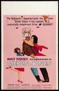 "Movie Posters:Comedy, The Misadventures of Merlin Jones (Buena Vista, 1964). Window Card (14"" X 22""). Annette and Tommy Kirk star in this Disney c..."