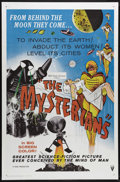 "Movie Posters:Science Fiction, The Mysterians (MGM, 1959). One Sheet (27"" X 41""). Fool me once,shame on you. Fool me twice, shame on me. Once again, seemi..."