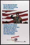 """Movie Posters:War, Patton (20th Century Fox, 1970). One Sheet (27"""" X 41""""). This filmabout the all-too-human World War II general earned seven ..."""