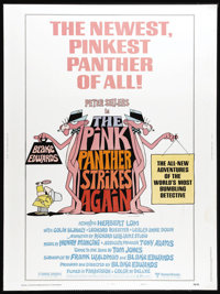 """The Pink Panther Strikes Again (United Artists, 1976). Poster (30"""" X 40""""). Peter Sellers stars as Inspector Cl..."""