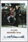 """Movie Posters:Crime, The Pope of Greenwich Village (MGM/UA, 1984). One Sheet (27"""" X41""""). Charlie and cousin Paulie (Mickey Rourke and Eric Rober..."""