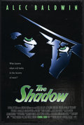 "Movie Posters:Adventure, The Shadow (Universal, 1994). One Sheet (27"" X 41""). Alec Baldwin,Ian McKellan, Jonathan Winters and Peter Boyle star in th..."