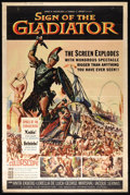 """Movie Posters:Adventure, Sign of the Gladiator (American International, 1959). Poster (40"""" X60""""). Queen Zenobia (Anita Ekberg), victorious in her re..."""
