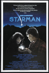 """Starman (Columbia, 1984). One Sheet (27"""" X 41""""). John Carpenter's film about an alien sent to learn about eart..."""