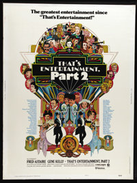 """That's Entertainment II (MGM, 1976). Poster (30"""" X 40""""). Gene Kelly and Fred Astaire present golden moments fr..."""