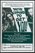 "Movie Posters:Horror, They're Coming to Get You (Independent-International, 1976). One Sheet (27"" X 41""). Atmospheric Italian horror film about a ..."
