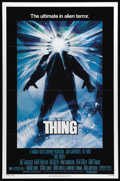 """Movie Posters:Horror, The Thing (Universal, 1982). One Sheet (27"""" X 41""""). John Carpenter's """"The Thing"""" is one of those science fiction/horror movi..."""