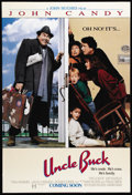 """Movie Posters:Comedy, Uncle Buck (Universal, 1989). One Sheet (27"""" X 41""""). John Candy is at his comic best in this heart warming and hilarious fam..."""