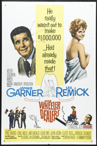 "The Wheeler Dealers (MGM, 1963). One Sheet (27"" X 41""). James Garner and Lee Remick star in this comedy about..."