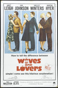 "Movie Posters:Comedy, Wives and Lovers (Paramount, 1963). One Sheet (27"" X 41""). Janet Leigh, Shelley Winters, Van Johnson and Ray Walston star in..."