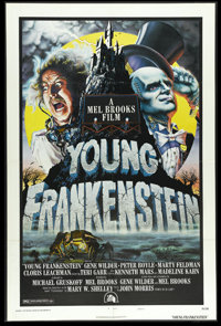 "Young Frankenstein (Universal, 1974). One Sheet (27"" X 41""). Gene Wilder, Madeline Kahn, Teri Garr and Peter B..."