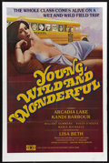 "Movie Posters:Bad Girl, Young, Wild and Wonderful (Gail Film, 1981). One Sheet (25"" X 38"").A bus full of students empties at the Museum of Natural ..."