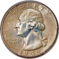 Washington Quarters, 1949 25C MS68 PCGS....