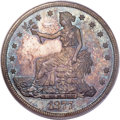 Proof Trade Dollars, 1877 T$1 PR66 PCGS. CAC. Breen-5808....