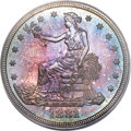 Proof Trade Dollars, 1881 T$1 PR66 PCGS. CAC....