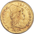 Early Quarter Eagles, 1804 $2 1/2 14 Stars Reverse, BD-2, R.4 -- Cleaning -- PCGSGenuine. XF Details....
