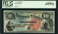 Fr. 96 $10 1869 Legal Tender PCGS Gem New 65PPQ
