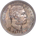 Coins of Hawaii , 1883 50C Hawaii Half Dollar MS65 PCGS Secure. CAC....