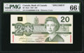 Canadian Currency: , BC-58aS $20 1991 Specimen.. ...