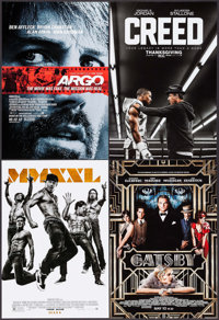 """Argo & Others Lot (Warner Brothers, 2012). Mini Posters (62) (8.5""""-13.5"""" X 11""""-20"""") Advance..."""