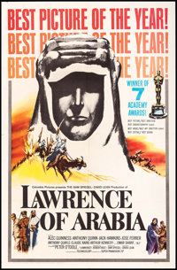 """Lawrence of Arabia (Columbia, 1963). One Sheet (27"""" X 41"""") Style D. Academy Award Style"""