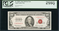 Small Size:Legal Tender Notes, Fr. 1550* $100 1966 Legal Tender Note. PCGS Superb Gem New 67PPQ.. ...