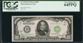 Small Size:Federal Reserve Notes, Fr. 2212-D $1,000 1934A Federal Reserve Note. PCGS Very Choice New 64PPQ.. ...