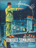 """Movie Posters:Foreign, The Sleepwalker (La Société des Films Sirius, 1951). French Grande (47"""" X 63""""). Foreign.. ..."""