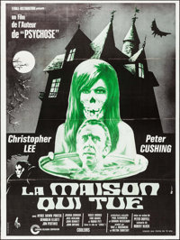 """The House that Dripped Blood (Etoile-Distribution, 1971). French Grande (46.75"""" X 62.5""""). Horror"""