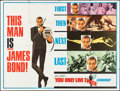 "Movie Posters:James Bond, You Only Live Twice (United Artists, 1967). Subway (45"" X 59.5"")Final Advance. James Bond.. ..."
