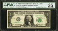 Fr. 1911-H $1 1981 Federal Reserve Note. PMG Choice Very Fine 35