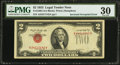 Error Notes:Inverted Third Printings, Fr. 1509 $2 1953 Legal Tender Note. PMG Very Fine 30.. ...