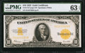 Large Size:Gold Certificates, Fr. 1173 $10 1922 Gold Certificate PMG Choice Uncirculated 63 EPQ.....