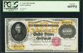 Large Size:Gold Certificates, Fr. 1225h $10,000 1900 Gold Certificate PCGS Gem New 66PPQ.. ...
