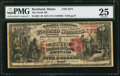 National Bank Notes:Maine, Rockland, ME - $5 1875 Fr. 403 The North NB Ch. # 2371. ...