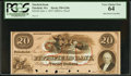 Obsoletes By State:Massachusetts, Pittsfield, MA- Pittsfield Bank $20 June 1, 1857 G20c Proof. ...