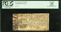 Colonial Notes:Continental Congress Issues, Continental Currency May 10, 1775 $20 PCGS Apparent Very Fine 35.....