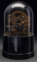 An Edison Designed Stock Ticker Machine, late 19th century Marks: FOOTE PIERSON & CO., NY serial 104