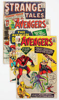 Silver Age (1956-1969):Horror, Strange Tales/The Avengers Group of 8 (Marvel, 1960s) Condition:Average FR.... (Total: 8 Comic Books)