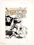 Original Comic Art:Covers, Joe Certa Charles Starrett as the Durango Kid Cover OriginalArt (Magazine Enterprises, 1951)....
